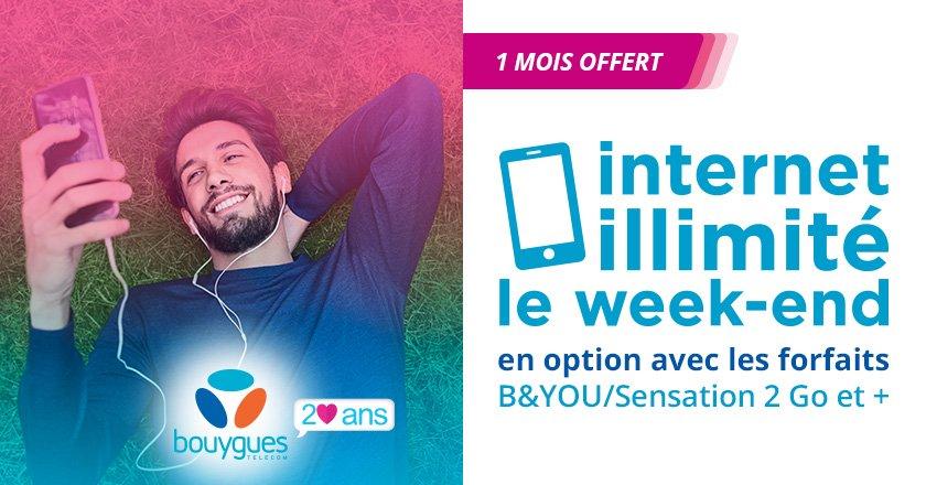 bouygues telecom week-end
