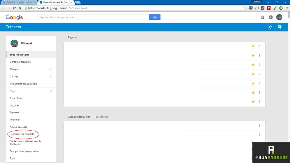 8ef8c344842b2c Comment retrouver ses contacts effacés sur Android - PhonAndroid.com