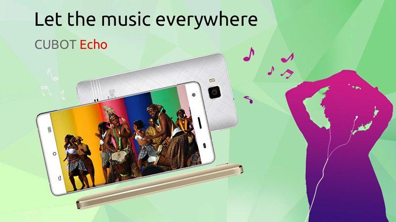 Cubot Echo : l'incroyable smartphone pour les audiophiles à moins de 100€