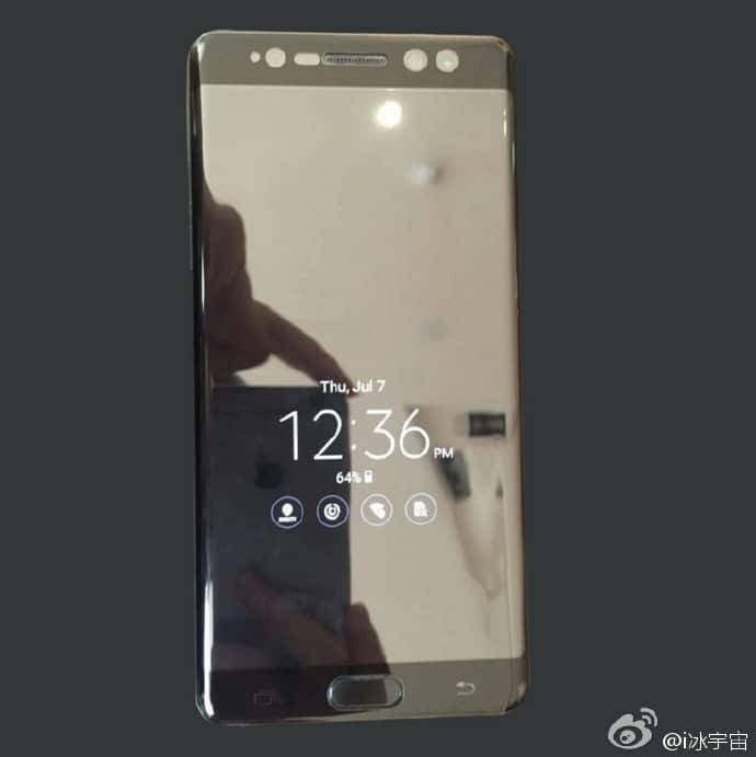 galaxy note 7 always on display