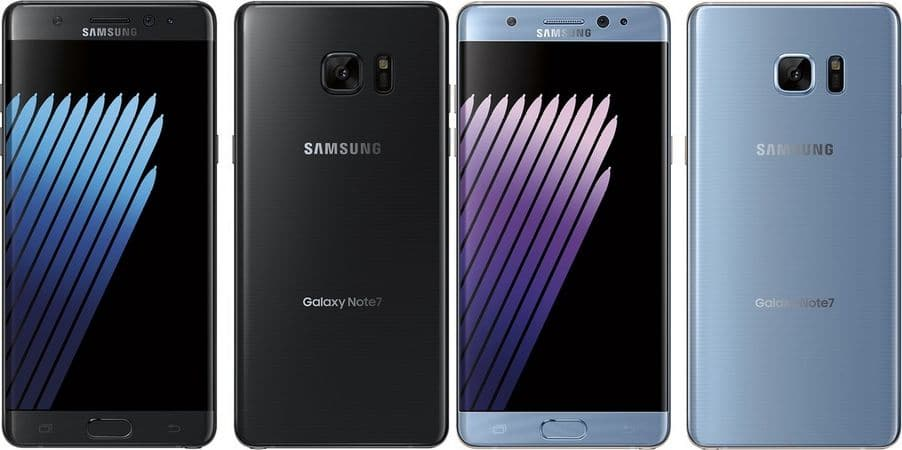 galaxy note 7 android nougat