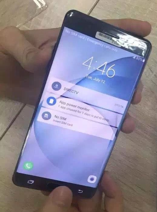 galaxy note 7 ecran