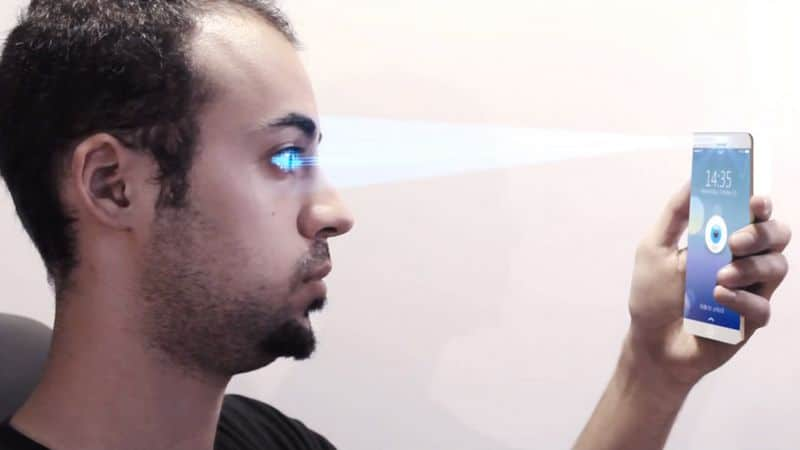 iphone iris scanner