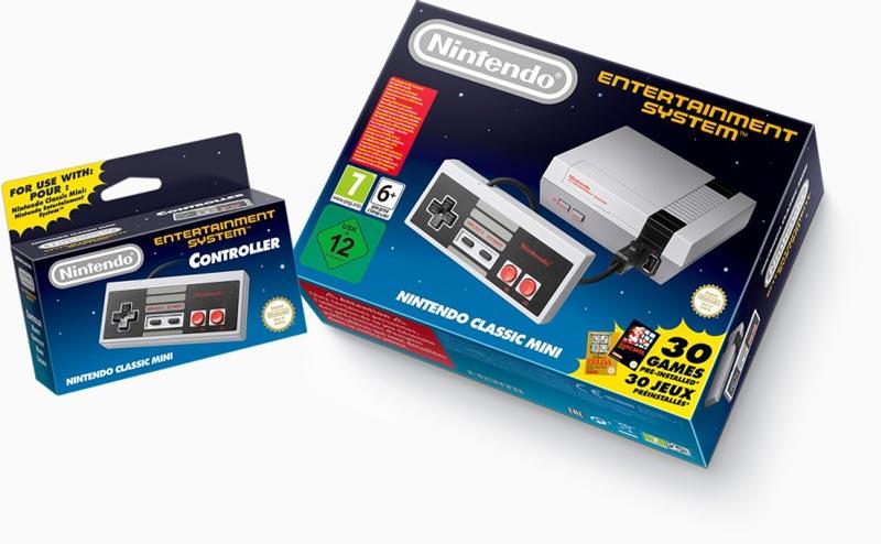 Nintendo NES Classic Mini : date de sortie, prix, liste des 30 jeux et ...