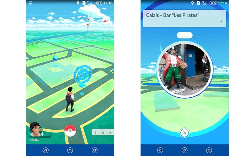 Pokémon Go Pokéstop