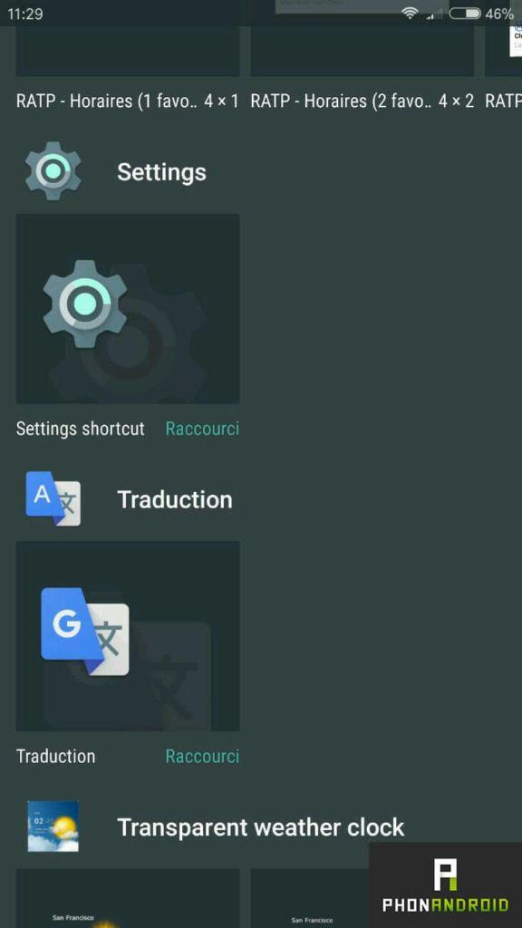 Comment rajouter des raccourcis sur votre bureau android - Comment mettre sur le bureau un raccourci ...
