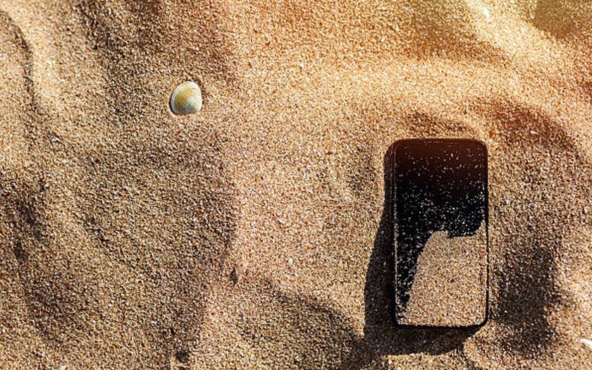 smartphones vacances sable