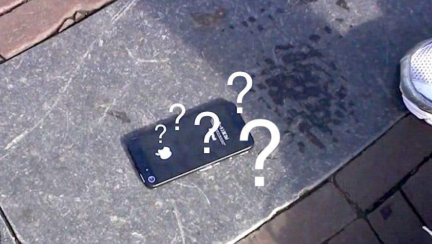 vous avez trouvé un smartphone perdu, voici quoi faire