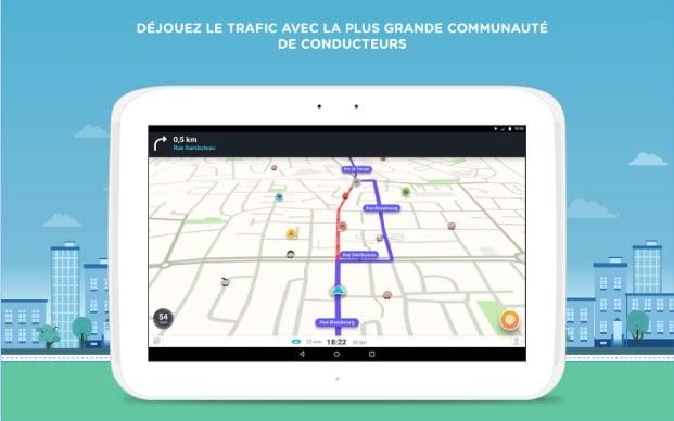 Waze Info trafic : les meilleures applications pour éviter les bouchons
