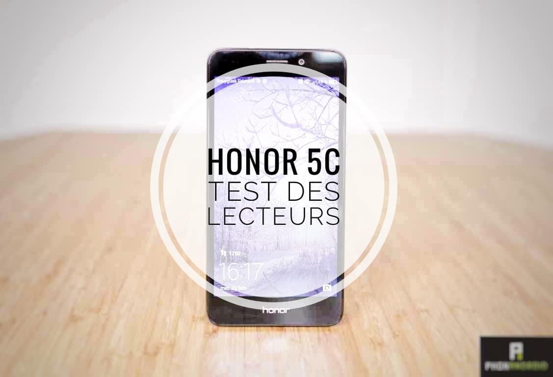 honor 5c test lecteurs