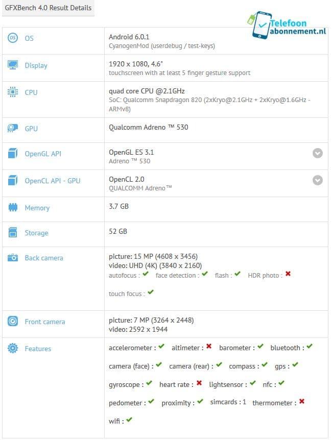 benchmark xperia x compact