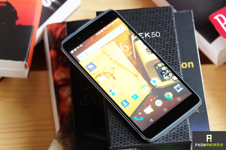 blackberry dtek50 test complet