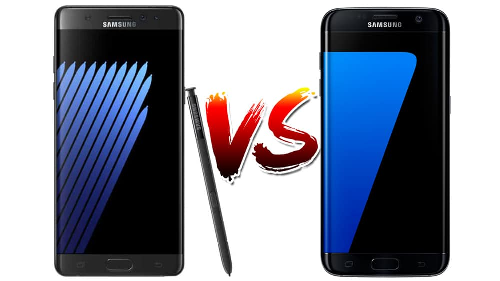 galaxy note 7 galaxy s7 edge