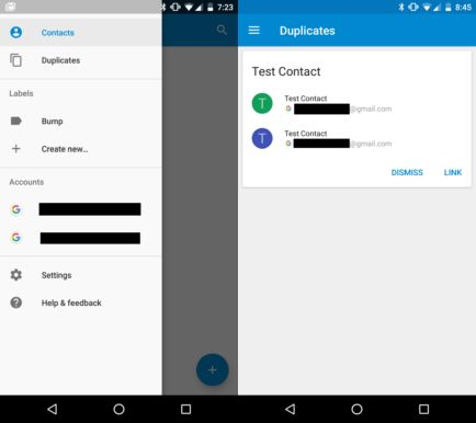 google contacts 1.5