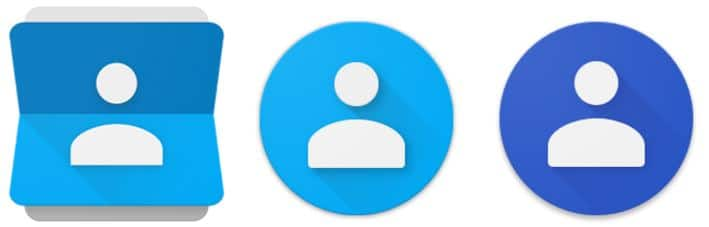 google contacts icone