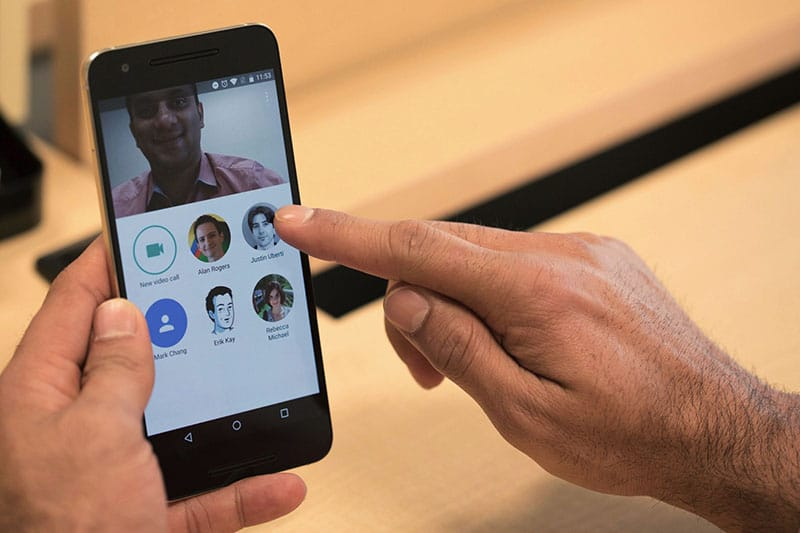 google duo disponible android ios