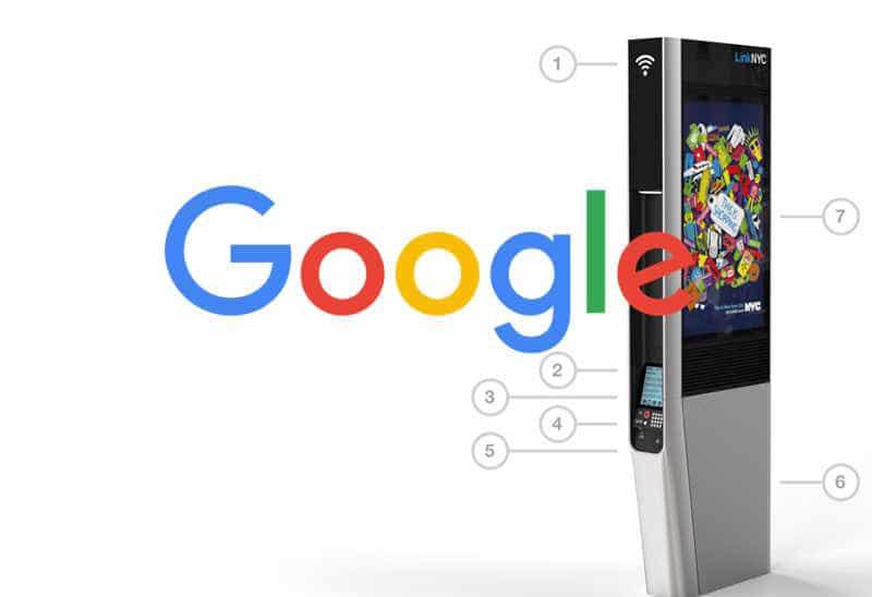 Google veut équiper les grandes villes de cabines téléphoniques gratuites !