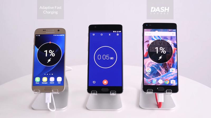 oneplus-3-vs-galaxy-s7-recharge-rapide