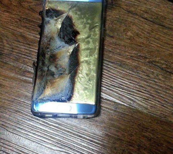 samsung galaxy note 7 explose