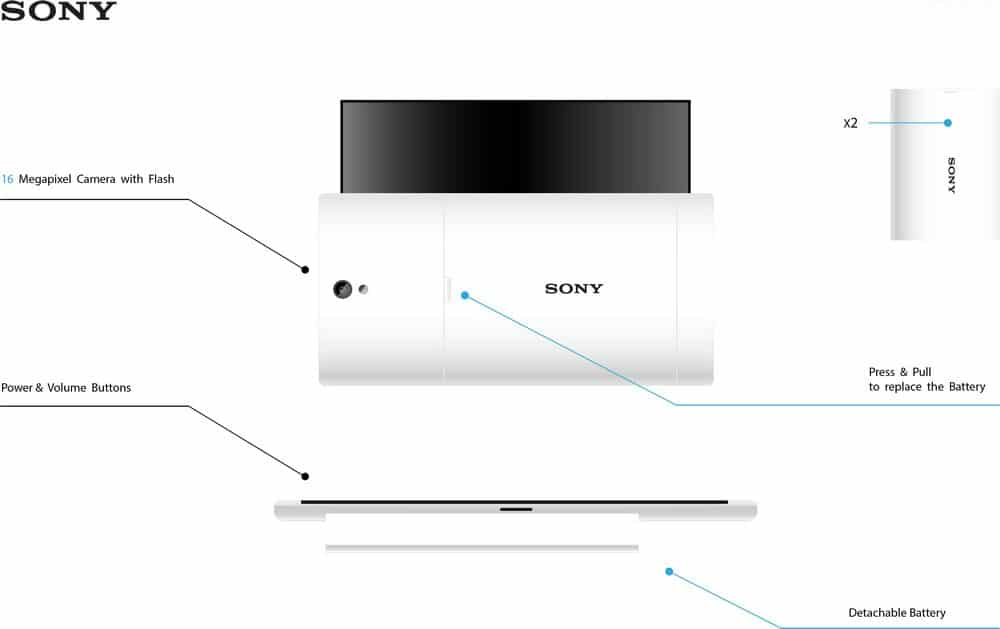 sony shadow concept