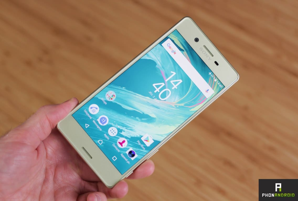 sony xperia android nougat