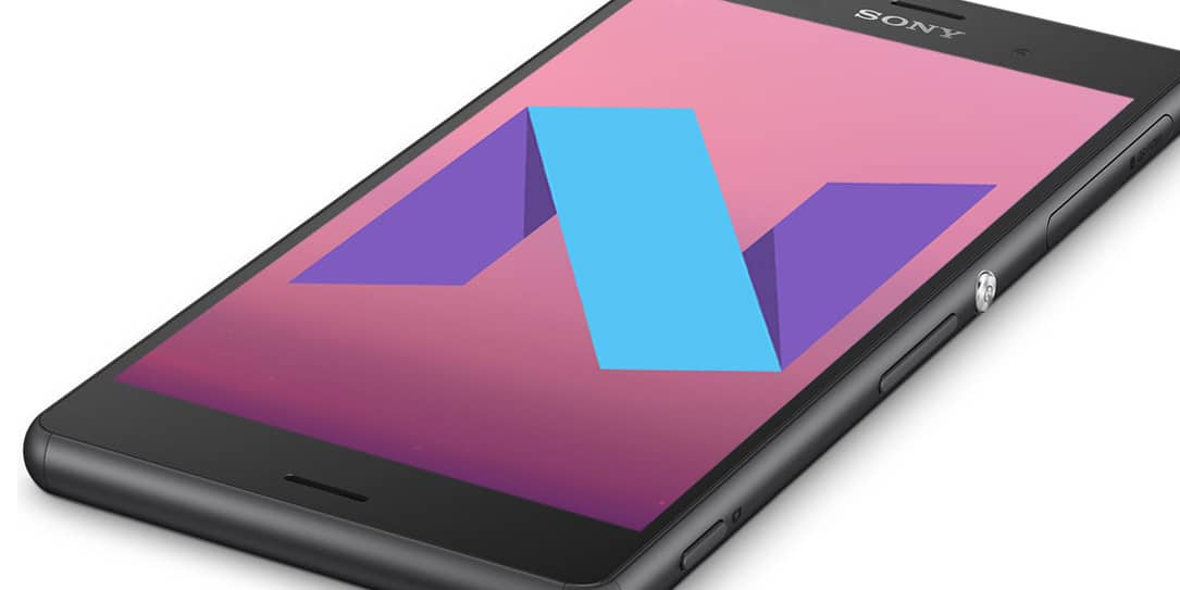 sony xperia z3 android nougat