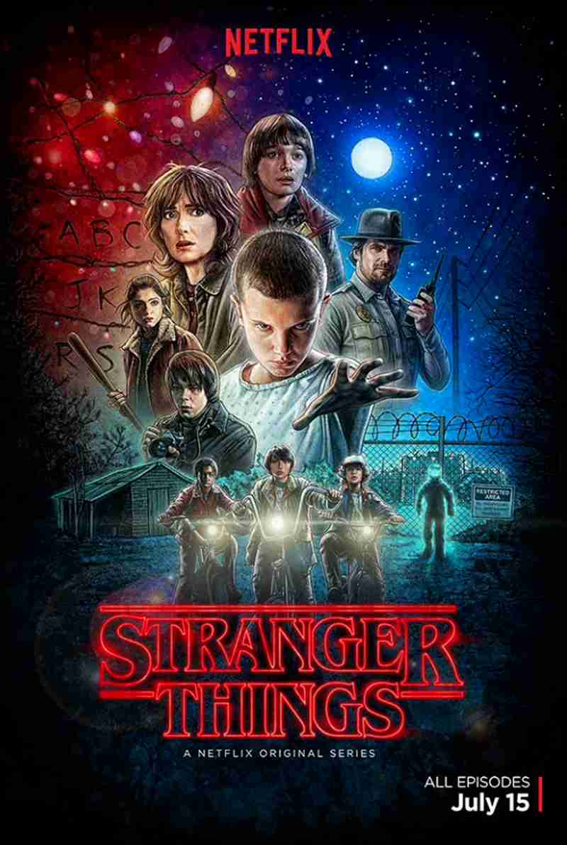 stranger things affiche ipad pro