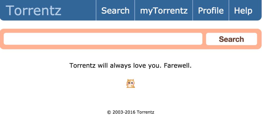 Torrentz cesse de fonctionner après la fermeture forcée de KickAssTorrents