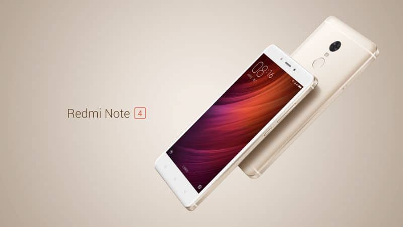 xiaomi redmi note 4 gold