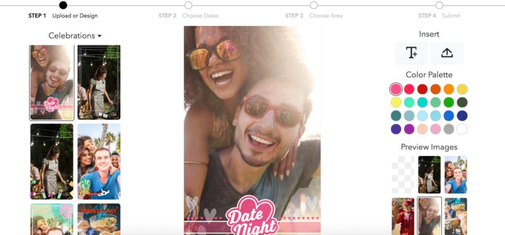 Snapchat-filtre