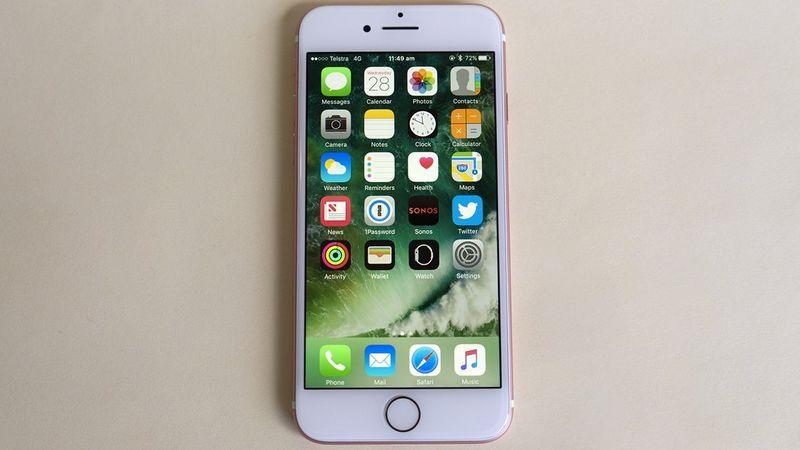 autonomie iphone 7