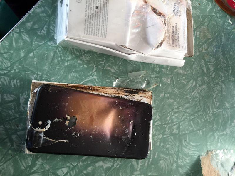 explosion iphone 7 plus