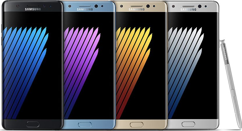galaxy note 7 explosifs