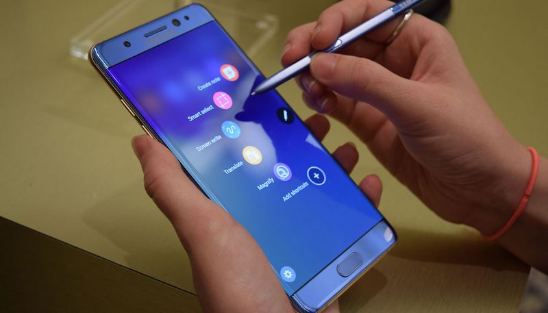 galaxy note 7 lenteur