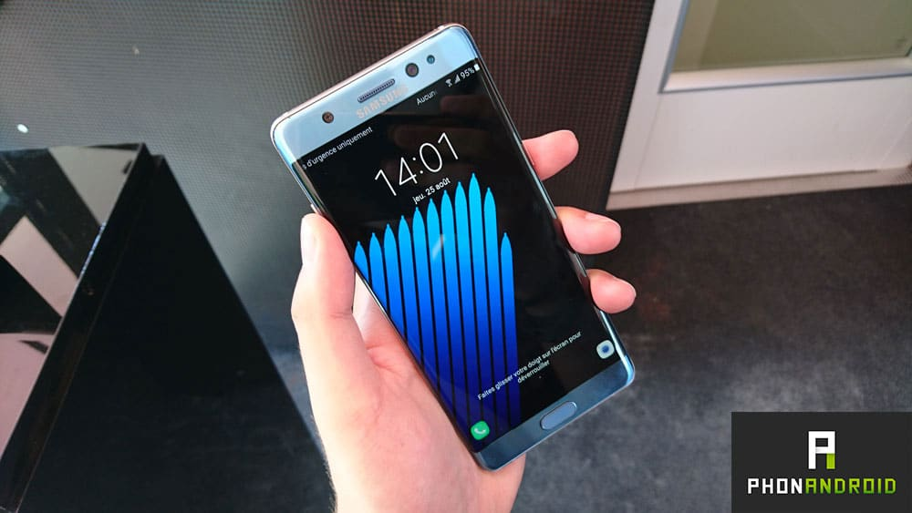 galaxy note 7 modele defectueux