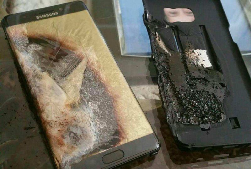 galaxy note 7 plainte