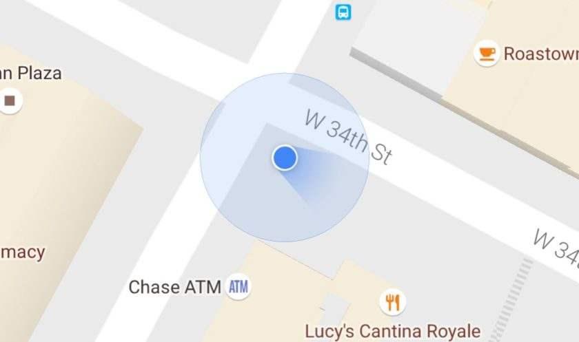 google-maps-cone-navigation