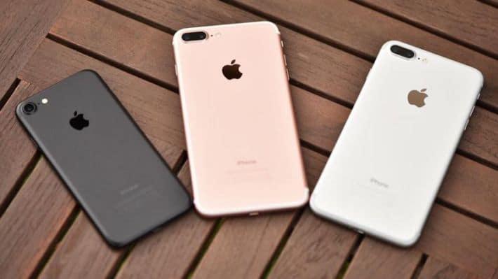 iphone 7 cher