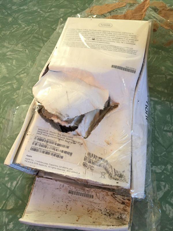 iphone 7 plus explose packaging