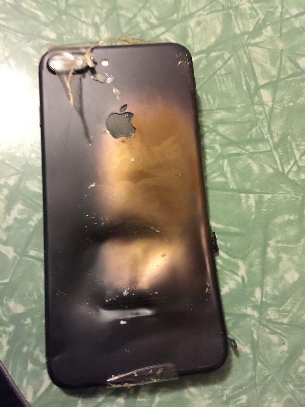 iphone 7 plus feu