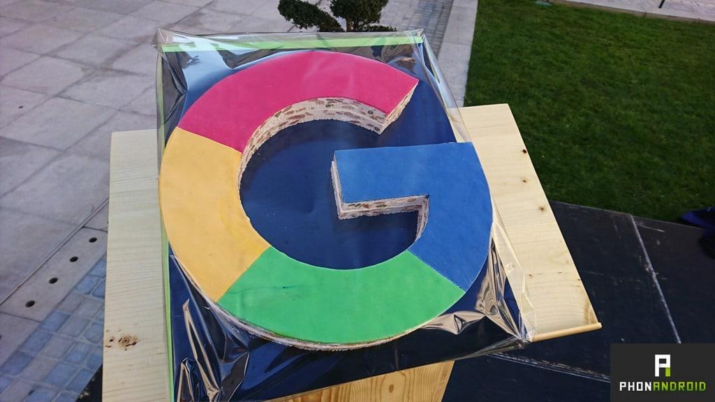 logo google nougat