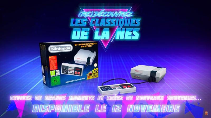 La NES Classic Mini se dévoile en vidéo avant sa sortie