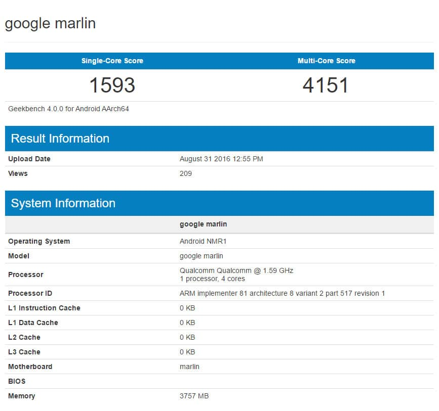 nexus-marlin-fiche-technique-geekbench