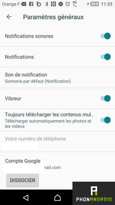 notifications google allo