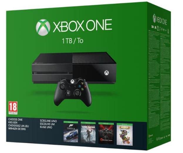 promo console xbox one auchan