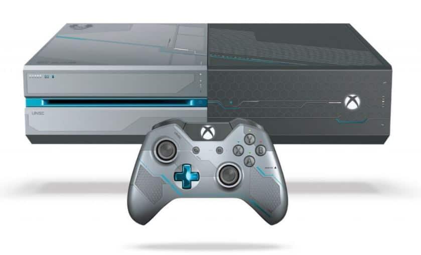 Promo Xbox One édition limité Halo 5