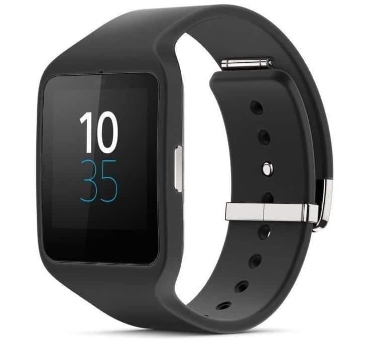 sony smartwatch 3 swr50 noir montre connectée