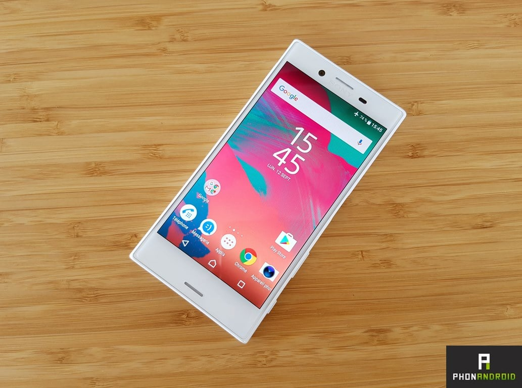 sony xperia x compact android nougat