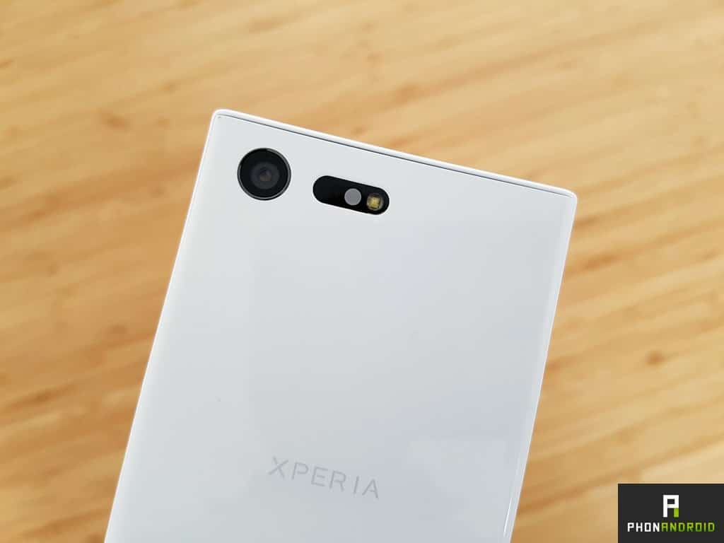 sony xperia x compact appareil photo