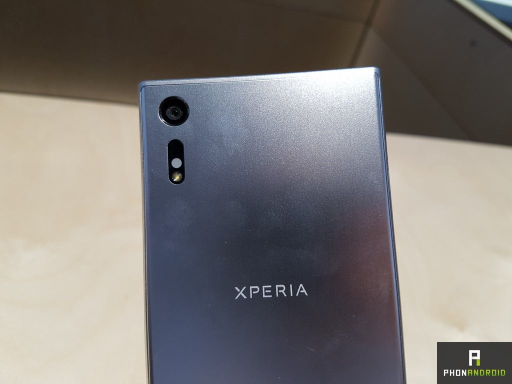 sony xperia xz capteur photo